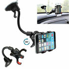 Universal Rotating Car Windshield Mount GPS Phone Holder For Galaxy S10 iPhone X