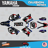 Yamaha YZ250 YZ125 Graphics Decal Kit  2002 to 2014 YZ 250  DIVISION-Red Drk Blu