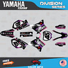 Yamaha YZ250 YZ125 Graphics Decal Kit  2002 to 2014 YZ 250  DIVISION-Pink Purple