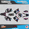 Yamaha YZ250 YZ125 Graphics Decal Kit  2002 to 2014 YZ 250  DIVISION-Pink DrkBlu