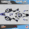 Yamaha YZ250 YZ125 Graphics Decal Kit 2002 to 2014 YZ 250 SPEAR Series Dark blue
