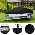 11/18/22FT Heavy Duty Trailerable Fishing Bass Boat Cover Waterproof Beam V-Hull
