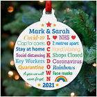 Lockdown Christmas Decoration 2020 Personalised Lockdown Memories Couples Gifts