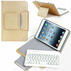 "For Universal 9.7"" 10"" 10.1"" Tablet Leather Case Bluetooth Keyboard Stand Cover"