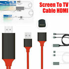 USB to HDMI TV Adapter HD 1080 OTG MHL Charger Cable for iPhone Samsung