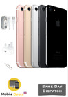 Apple Iphone 7 32gb & 128gb Unlocked 4g Lte Ios Smartphone Unlocked All Colours
