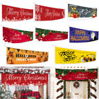 Christmas Halloween Banner DIY Outdoor Eaves Background Home Background Cloth