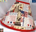AMERICAN PATRIOTIC STATUE OF LIBERTY LAMP SHADE (Clip-On) -  $65.95 - LAST ONE!