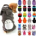 Pet Clothes Sweater Chihuahua Small Dog Coat Jacket Hoodie Winter Soft Costumes
