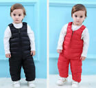 New Winter Baby Toddler Down Pants Girls Boys 80 duck down Rompers trousers