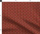 Tiny Vizsla Christmas Fabric Dog Dogs Breed Fabric Printed by Spoonflower BTY