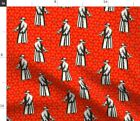Halloween Science Spooky Doctor Medical Steampunk Spoonflower Fabric by the Yard