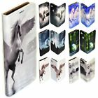 For Samsung Galaxy Series Unicorn Print Theme Wallet Mobile Phone Case Cover #2