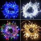 Waterproof String Fairy Lights Decor 20-400 LED Battery Plug in Outdoor Wedding