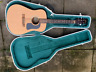 More images of Washburn D10N acoustic 31 years old with good quality hard shell case