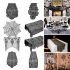 Scarf Cover Lace Spiderweb Halloween Horror Props Cobweb Runner Tablecloth