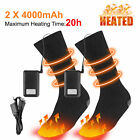 Electric Heated Socks Insoles / Foot Warmer Battery RechargeableThermal Sockings