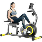 Recumbent Magnetic Exercise Bike Bike-Seated Cardio Elliptical Exercise Machine