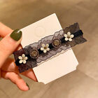 Lace Elegant Rhinestone Hairpin Barrette Hair Accessories Hair Clips