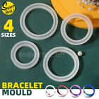 Silicone Jewelry Making Bracelet Mold Bangle Resin Casting Epoxy Mould Tool Diy