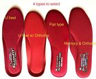 SKECHERS MEMORY FOAM GEL INFUSED RELAX FIT INSOLES US MENS SIZE 7-14