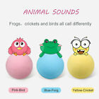 Pets Cat Toys Ball with Lifelike Animal Sounds Kittens Refillable Catnip Toy