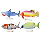 Fish Cat Toy Electric Floppy Fish Cat Toy Moving Fish Catnip Toys for Pet