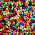 Color Round Stoppers Floats Balls Double Pearl  Drill  Fishing Cross Beads