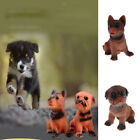Lifelike Dog Design Toy Pet Puppy Kitty Squeaky Toy Home Table Decoration