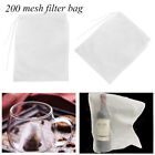 Cooking Wine Strainer Cheesecloth Coffee Filter Nut Milk Bag Nylon Fine Mesh