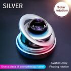 New Solar Power Auto Car Rotate Aromatherapy Air Freshener Perfume Holder Decor
