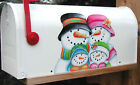 Mailbox Magnet Partial Cover Door Snowmen Family Of 4 Car Better Than A Decal