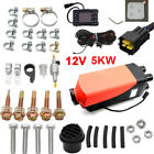 Air Diesel Parking Heater Thermostat 12V 2KW-5KW Remote For SUV Car Boat Trailer