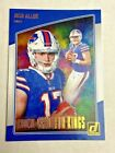 2018 Panini Josh Allen Rookie Variation ( Pick Your Cards )Football Cards - 215