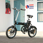 Ancheer 16'' Folding Electric Commuter Bike Ebike Removable Lithium-Ion Battery