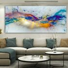 Colorful Clouds Abstract Canvas Painting Canvas Wall Art Wall Picture Wall Decor