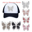 Iron-on Motifs Sticker Rhinestone Patches Clothing Accessories Hotfix Butterfly