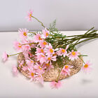 Silk Flowers Bouquet Fake Daisy Bunch Home Wedding Party Decorations Artificial