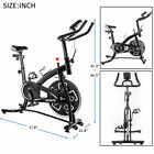 Stationary Professional Indoor Cycling Bike Home S280 Trainer Exercises 24 lbs