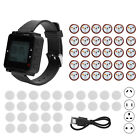 30 Restaurant Coaster Pager Guest Wireless Paging Queuing Calling System SU  C04