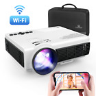 VANKYO LED Home Wireless Mini Projector WiFi HDMI for Games Movies TV series