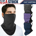 Bandana with Scarf Loops Ear Face Cover Mask Balaclava Neck Gaiter for Women Men