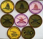 Militia Patches and Rocker Tabs,Sew On and Hook/Loop,Infantry,Marksman,Sniper