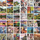 New Paint By Number Kit Digital DIY Oil Painting Colored Canvas Art Home Decor