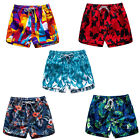 Women Swim Trunk Quick Dry Board Shorts Summer Beach Shorts Pocket Active Shorts