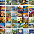 Scenery Flower DIY Paint By Numbers Kits Digital Oil Painting Color Canvas Decor