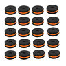 More images of Black& Orange Cymbal Stand Felt Washers for Drum Set Parts Accessories