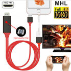 HDMI Mirroring AV Cable Phone to TV HDTV Adapter Universal iPhone Android USB-C