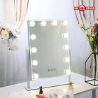 12 LED Hollywood Mirror With Lights Dressing Vanity Makeup Table Desk Bright UK