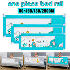 1.5/1.8/2M Baby Bed Rail Fence Adjustable Guardrail Toddler Infant Safety NEW